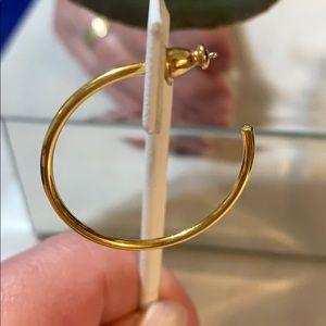Jewelry - Monet gold hoops